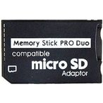 【大口:2個よりお承り】【送料無料】メモリースティック PRO DUO 変換アダプタ(microSDHCカード→MSへ変換アダプタ)【2GB 4GB 8GB 16GB 32GB 64GB対応】