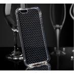 iphoneグッズの秋葉原で買える「お試し【iphone7/8専用/4.7インチ】【アイフォン7 ケース TPU 透明 衝撃吸収 二重保護 点々付】ソフトケース クリア 耐衝撃 iphone8にも対応」の画像です。価格は1円になります。