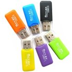 送料無料[ポイント消化にに最適][蓋付 TYPE-B]マイクロSDカード用 USB カードリーダー【microsdhc 2GB 4GB 8GB 16GB 32GB 64GB対応】お色指定不可