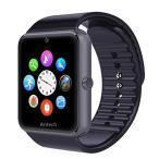 Antech G8 ���ޡ��ȥ����å� smart watch Bluetooth��� ¿��ǽ�ӻ��� ���ޡ��ȥǥ������ӻ��� (�֥�å�)