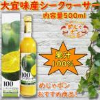 シークワーサー 青切り ジュース 沖縄 飲料 大宜味産 シークヮーサー 500ml 12本セット