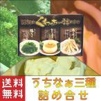 沖縄のくわっちー詰め合わせ(島らっきょう・ジーマーミ豆腐・海ぶどう)×1個 沖縄 送料無料 お土産 おつまみ