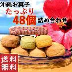ちんすこう  お土産 沖縄 お菓子 ちんすこう詰合せ(48個入)黒糖 紅芋 ジーマーミ— バニラ ヨモギ ノーマル チョコレート 送料無料