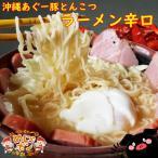 沖縄 とんこつ ラーメン ナンポー沖縄あぐー豚とんこつラーメン辛口86g1袋セット