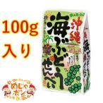 沖縄海ぶどうせんべい 100g ×1袋 ナンポー 沖縄 海ぶどう せんべい