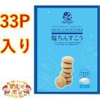 ちんすこう お土産 沖縄 北谷の塩入り 塩ちんすこう 33個入 ×1箱 ナンポー ポイント消化 おすすめ