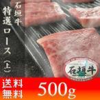 石垣牛 ギフト 特選ロース(上)500g 焼肉 お土産 送料無料 いしがきビーフ本舗
