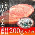 石垣牛 ステーキ サーロイン(上)400g  ギフト お土産 送料無料 いしがきビーフ本舗