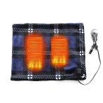 【USB電熱フランネル】USB ブランケット 着る毛布 電気あんか 洗える 毛布 3段階 温度調節つき 電気 節電 電気毛布 レディース メンズ チェ