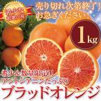 ブラッドオレンジ 和歌山 産地直送 1kg オレンジ (北海道・沖縄・一部離島+500円)柑橘系 箱買い
