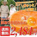 みかん ちょっと 訳あり 有田みかん 蜜柑 5.0kg 自宅用 訳アリ 送料無料 ミカン 箱買い 産地直送 安い 糖度