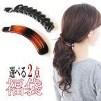 髮夾 - ヘアアクセサリー 福袋 バナナクリップ おまとめ買い 2個セット 簡易便送料無料 HUK-HE2