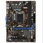 新品 MSI B75MA-E33 Intel B75 マザーボードLGA 1155コンピュータ パーツDDR3 PCパーツMicro ATX動作確認済