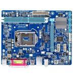新品 Gigabyte GA-H61M-DS2 Intel H61マザーボードLGA 1155コンピュータ パーツDDR3PCパーツMicro ATX動作確認済
