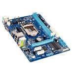 新品  Gigabyte H61M-S1 Intel H61マザーボードLGA 1155コンピュータ パーツ2×DDR3 PCパーツMicro ATX動作確認済