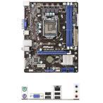 新品 ASROCK H61M-VG4 Intel H61マザーボードLGA 1155コンピュータ パーツDDR3PCパーツMicro ATX動作確認済