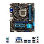 新品  ASUS P8B75-M LE Intel B75マザーボードLGA 1155コンピュータ パーツ2×DDR3 PCパーツuATX動作確認済