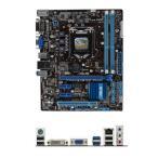 P8B75-M LX PLUSマザーボードLGA 1155DDR3PCパーツMicro ATX