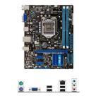 新品 Asus P8H61-M LX3 PLUS R2.0 Intel H61マザーボードLGA 1155コンピュータ パーツDDR3PCパーツuATX動作確認済