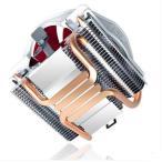 新品 テントウムシV6 CPU放熱器 4本ヒートシンク放熱ファン(静音タイプ) Intel 775 1155 1156 AMD AM2/AM2+/AM3/FM1知能温度調節CPUクーラー単ファン