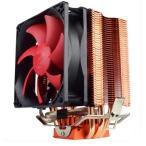新品 紅海 10 S93DパソコンCPU放熱器 3本ヒートシンク 放熱ファンINTEL/AMD 775/115X/1366 静音CPUクーラー冷却単ファン強化版