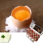 お歳暮 ギフト 純種烏骨鶏卵 モールド10個入 (モールドケース入り) お祝い、内祝い、お誕生日