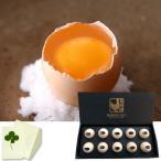 ホワイトデー 純種烏骨鶏卵(冷蔵) 化粧箱10個入 お祝い、内祝い、お誕生日