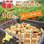 北海道産 2018新じゃがいも メークイン 10kg 産直 十勝産 旬の野菜 ギフト
