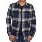 ショッピングリーバイス リーバイス Levis 長袖シャツ チェック ネルシャツ 青白  メンズ フランネル 19587-0029 秋物 冬物 ブルー ホワイト