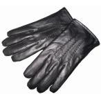ショッピングコムサ コムサイズム COMME CA ISM 手袋 ラムレザー ピックレザー  黒 メンズ 本革 冬物 グローブ ブラック