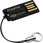 メール便可 Kingston microSD/microSDHC専用カードリーダー Gen 2対応 キングストン FCR-MRG2 海外パッケージ品