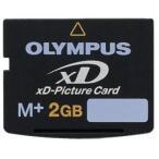 メール便可 OLYMPUS xDピクチャーカード 2GB TYPE-M+ オリンパス M-XD2GMP 海外パッケージ品