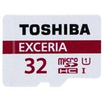 メール便可 東芝 microSDHC 32GB EXCERIA 超高速 48MB/s UHS-I TOSHIBA マイクロSDHC THN-M301R0320 海外パッケージ品