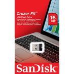 メール便可 SanDisk USB2.0 USBフラッシュメモリ 超小型 Cruzer Fit CZ33 16GB サンディスク SDCZ33-016G 海外パッケージ品