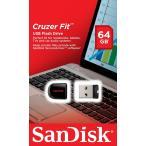 SanDisk USB2.0 USBフラッシュメモリ 超小型 Cruzer Fit CZ33 64GB SDCZ33-064G サンディスク 海外パッケージ品