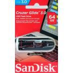 送料無料 SanDisk USB3.0 高速 USBフラッシュメモリ 64GB SDCZ600-064G サンディスク 海外パッケージ品