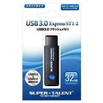 メール便可 Super Talent USBフラッシュメモリ 32GB USB 3.0対応 ST1-2 ST3U32ES12 スーパータレント パッケージ品