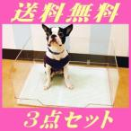 ショッピング犬 犬のトイレ クリアレット トレー&メッシュ セットと 飛散防止ガードのセット(同梱不可)