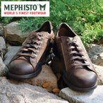 MEPHISTO メフィスト カジュアルシューズ コンフォートシューズ スニーカー 革 レザー MEPHISTO MATHIS 11951/3545/12451 DARK BROWN