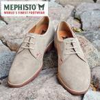 MEPHISTO メフィスト カジュアルシューズ 革 レザー スエード プレーントゥ MEPHISTO ORLANDO 3605 LIGHT GREY