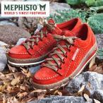 MEPHISTO メフィスト カジュアルシューズ 革 レザー スエード MEPHISTO SUPER RAINBOW 9838 BURNT ORANGE VELOURS