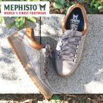 MEPHISTO メフィスト カジュアルシューズ 革 レザー スエード RAINBOW GREY 9860/PALACE4335 VELOURS