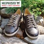 MEPHISTO メフィスト カジュアルシューズ スニーカー 革 レザー MEPHISTO UGGO 2659/3652 GRAPHITE