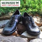 MEPHISTO メフィスト カジュアルシューズ スニーカー 革 レザー MEPHISTO URBAN 2600/2652 BLACK