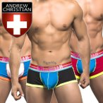 ボクサーパンツ メンズ ブランド Andrew Christian アンドリュークリスチャン BLOW! ローライズBoxer w/ Show-It(9788)