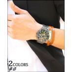 時計 腕時計 メンズ シルバー メタル ブラックオーシャンメタルデザインウォッチ