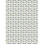 marimekko マリメッコ・コットン生地 Mini Unikko ミニ・ウニッコ ミニウニッコ 黒地にホワイト 生地 北欧【066475-910】