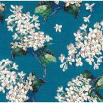 LIBERTYリバティプリント・国産タナローン生地<Archive Lilac>(アーカイブ・ライラック)【ターコイズ】3635189-15D