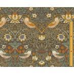 moda(モダ)William Morris ウィリアムモリス シーチング生地Strawberry Thief(ストロベリー・スィーフ)いちご泥棒SAGE(セージ)8176-31
