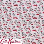 Cath Kidston キャスキッドソン 生地 コットンファブリック<Cherry Sprig Red>(チェリースプリッグ パレッド)CHERRY-SPRIG